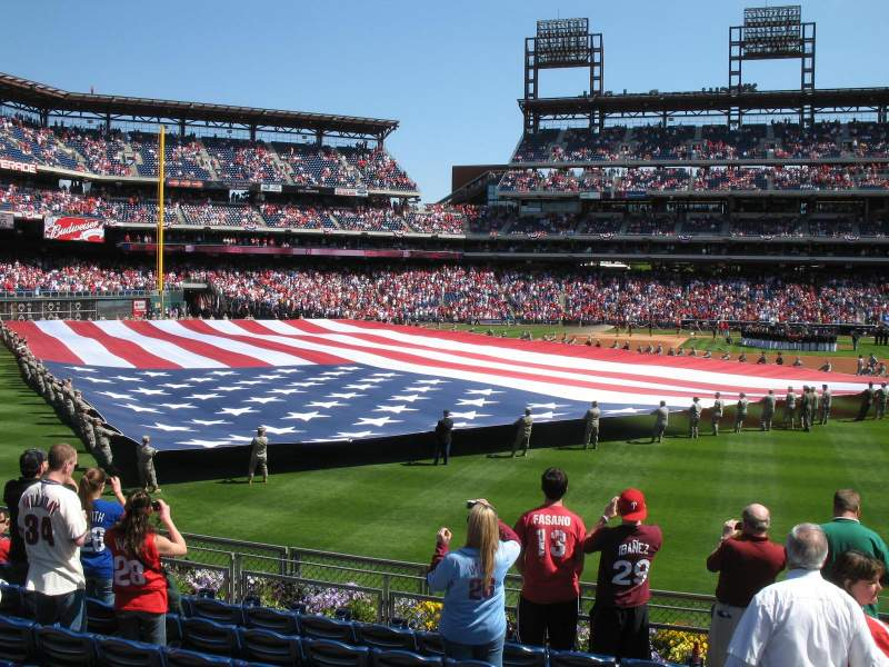 Seating view for Citizens Bank Park Section 143 Row 10 Seat 1