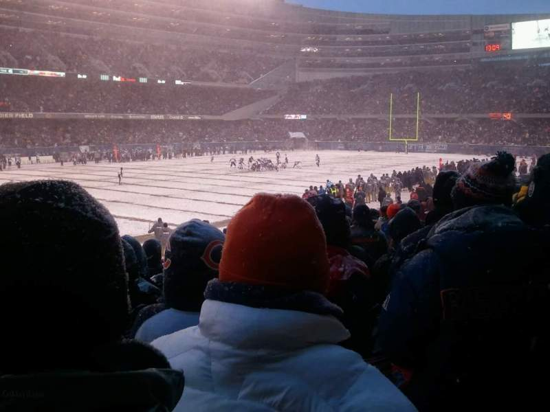Seating view for Soldier Field Section 144 Row 15 Seat 11