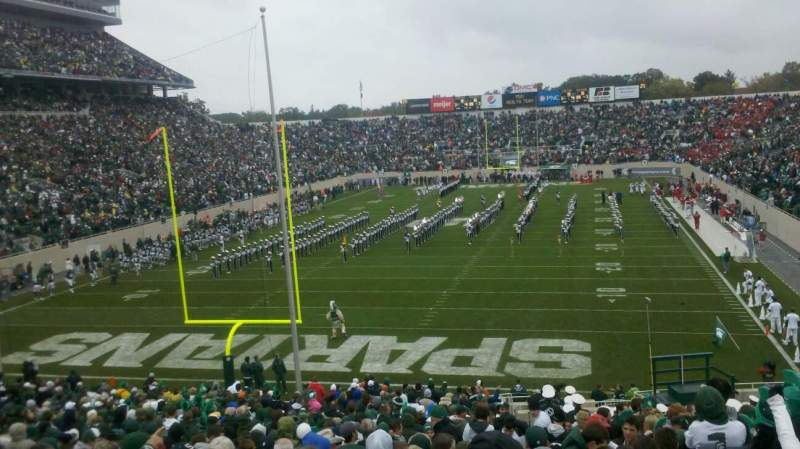 Seating view for Spartan Stadium Section 15 Row 39 Seat 40