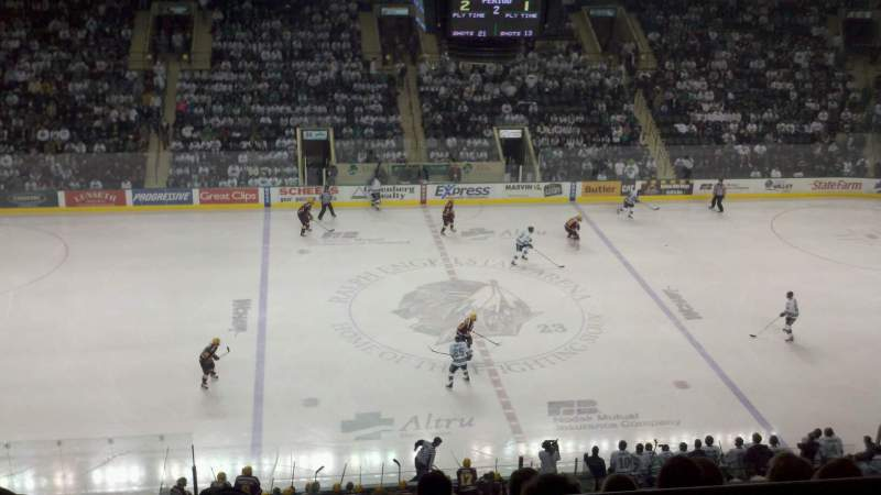 Seating view for Ralph Engelstad Arena Section 301