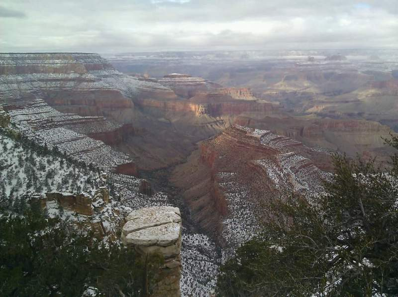 Seating view for Grand Canyon