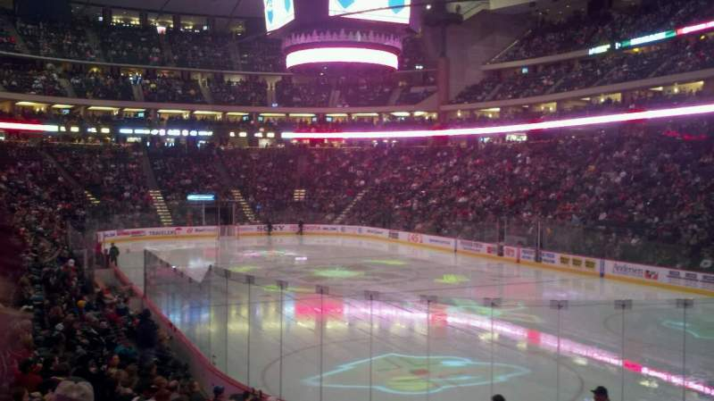Seating view for Xcel Energy Center Section 112 Row 15 Seat 11