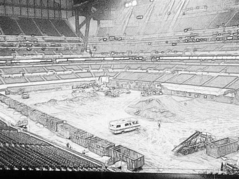 Seating view for Lucas Oil Stadium