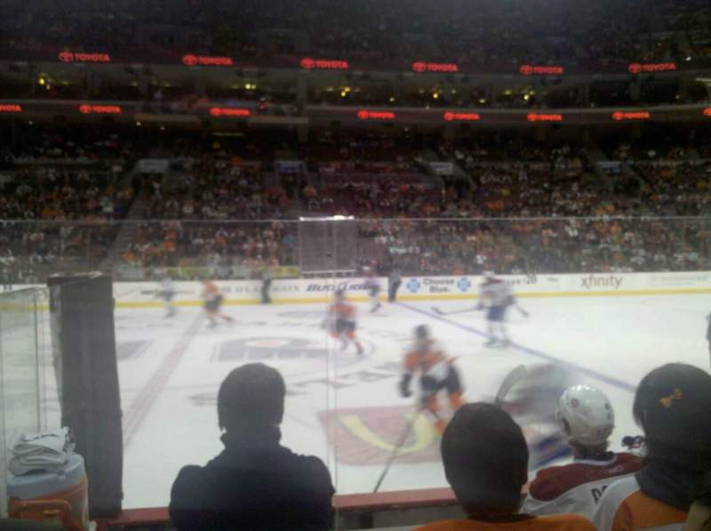 Seating view for Wells Fargo Center Section 101 Row 5 Seat 11