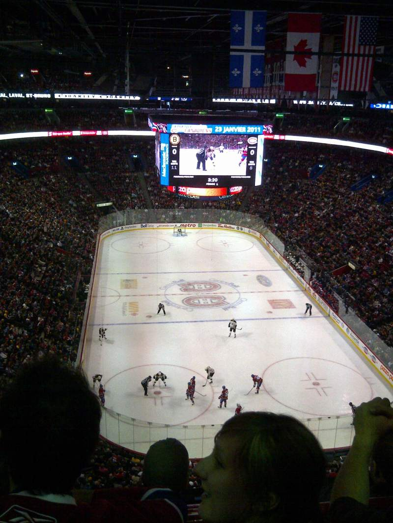Seating view for Centre Bell Section 311 Row CC Seat 5