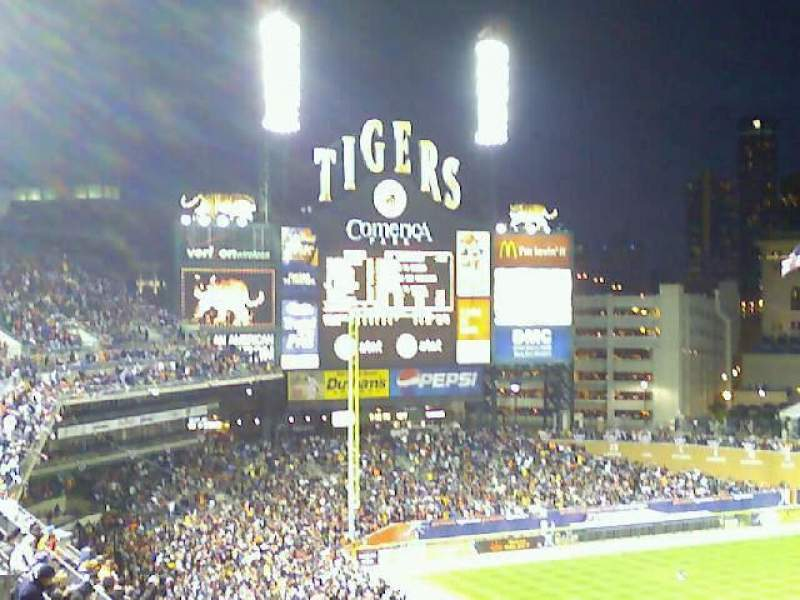 Seating view for Comerica Park Section 332