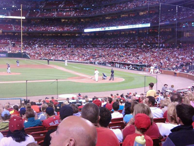 Seating view for Busch Stadium Section 155 Row 15 Seat 9