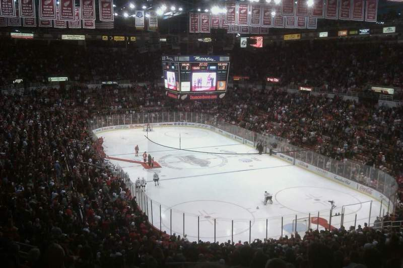 Seating view for Joe Louis Arena Section 216B Row 14 Seat 24
