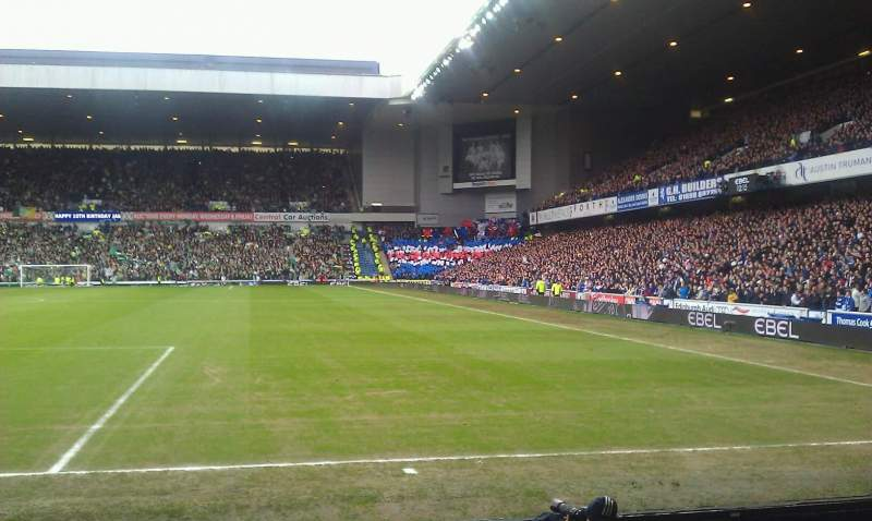 Seating view for Ibrox Stadium Section cf1 Row e Seat 45