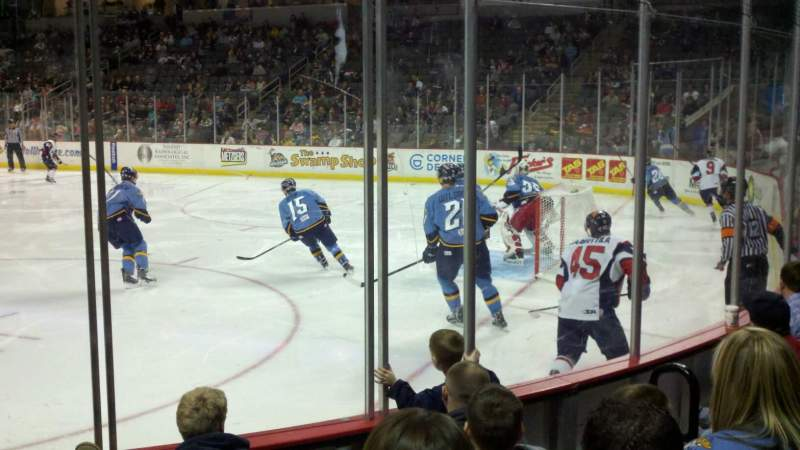 Seating view for Huntington Center Section 103 Row e Seat 6