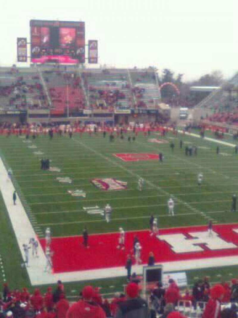 Seating view for Rice-Eccles Stadium Section N27 Row 42 Seat 7