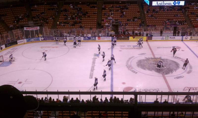 Seating view for SNHU Arena Section 222