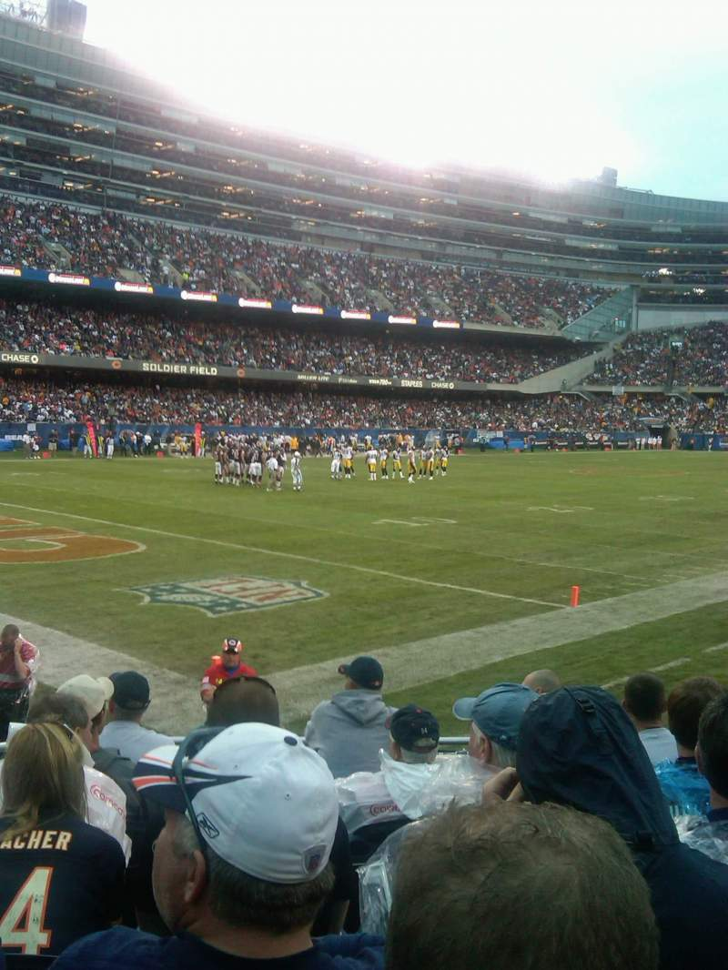 Seating view for Soldier Field Section 144 Row 7
