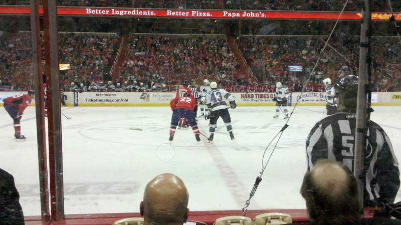 Seating view for Verizon Center Section 111 Row A Seat 8