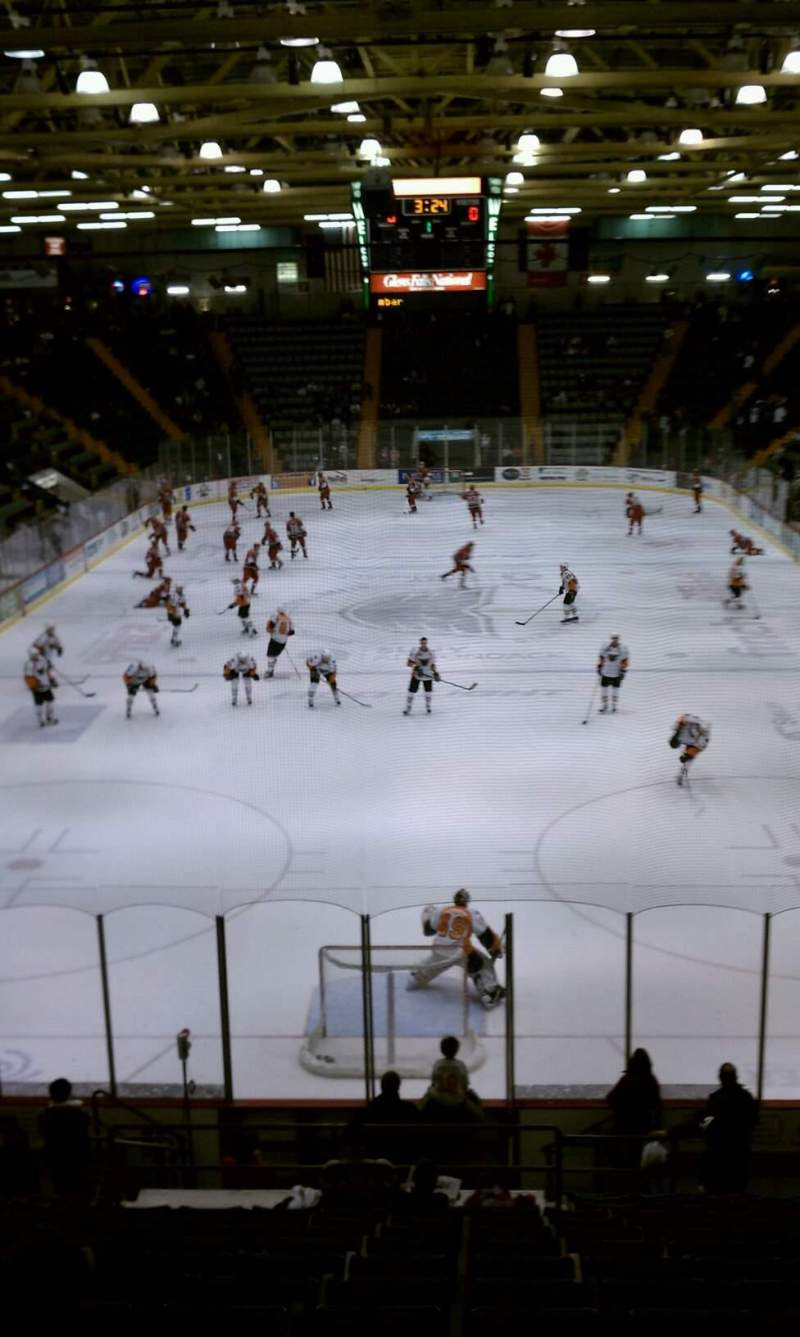Seating view for Glens Falls Civic Center Section G