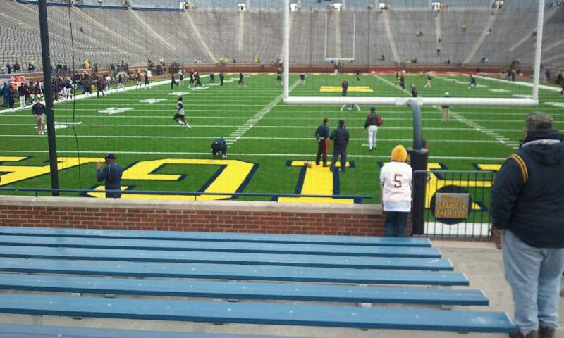 Seating view for Michigan Stadium Section 12 Row 12 Seat 10