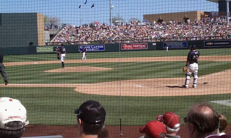 Salt River Fields, section: 115, row: 8, seat: 10