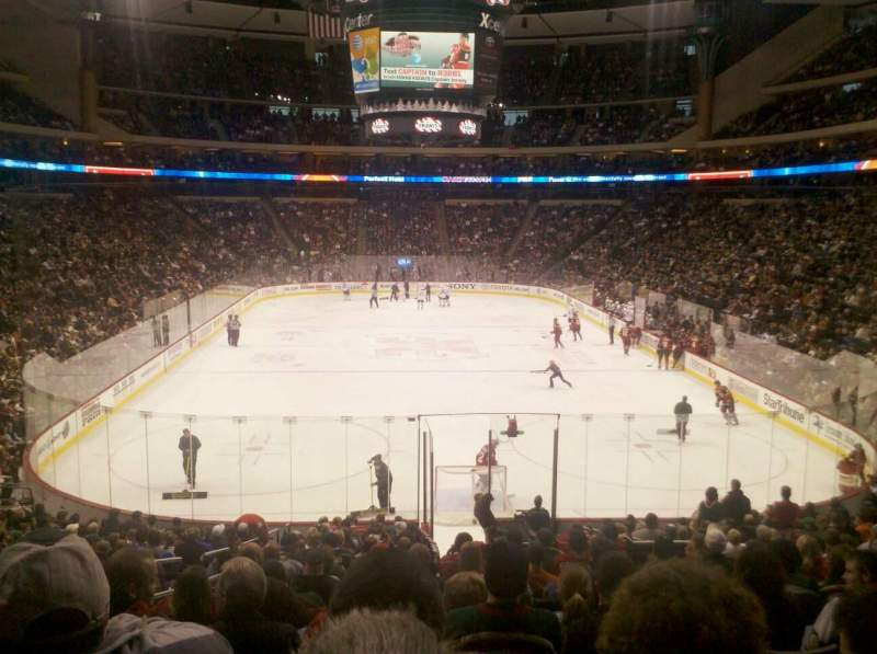 Seating view for Xcel Energy Center Section 123 Row 22 Seat 12