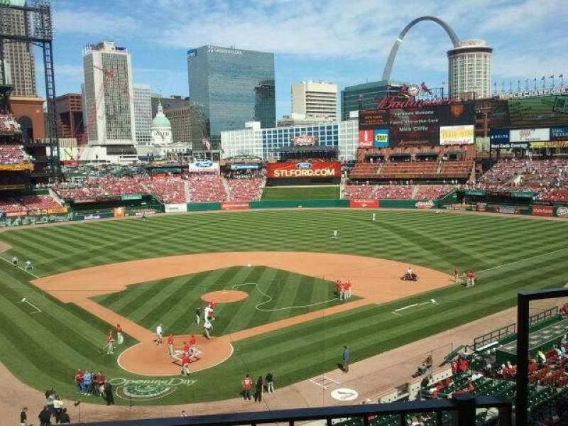 Seating view for Busch Stadium Section 249 Row 2 Seat 15