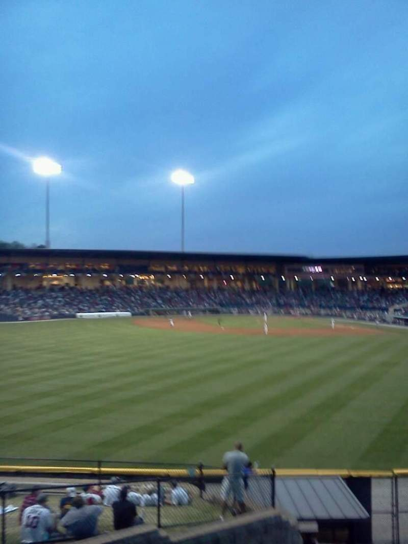 Seating view for Coolray Field Section Lawn
