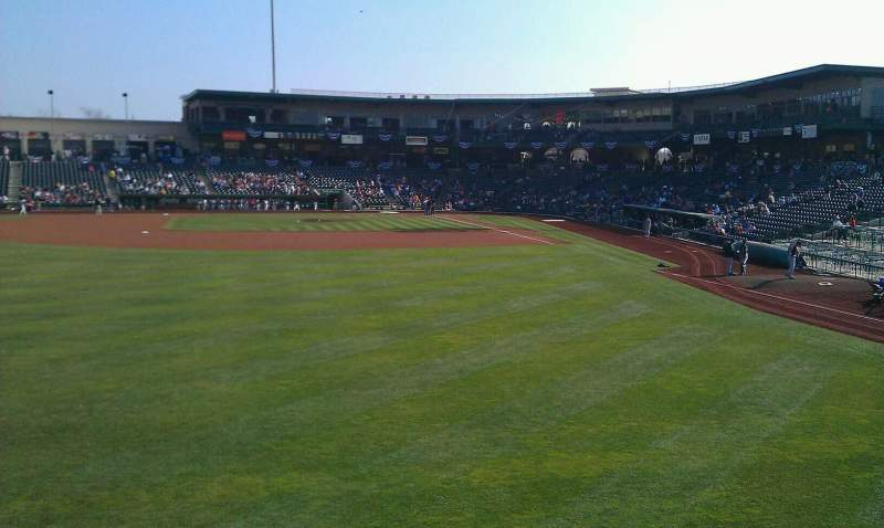 Seating view for Parkview Field Section 118 Row A Seat 13