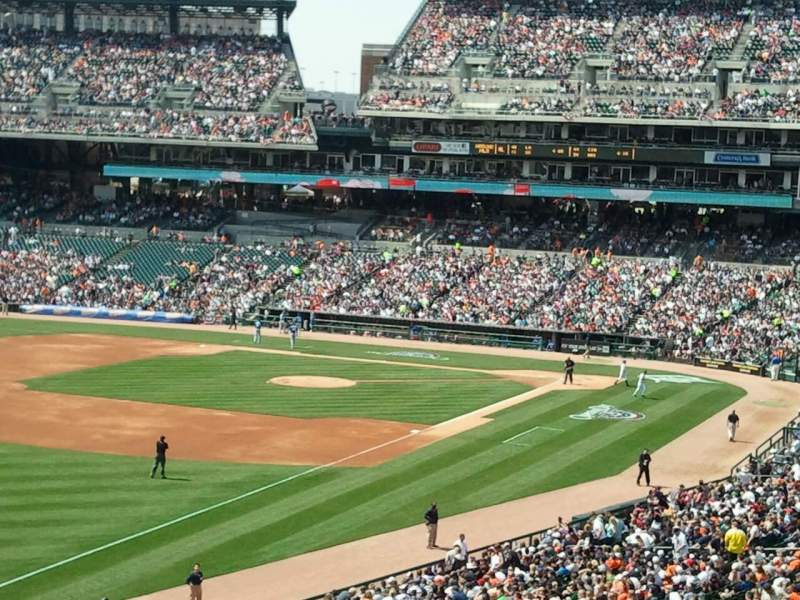 Seating view for Comerica Park Section Suite 149
