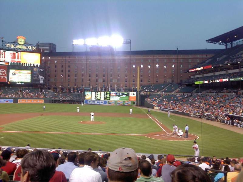 Seating view for Oriole Park at Camden Yards Section 48 Row 19 Seat 1,2,3,4