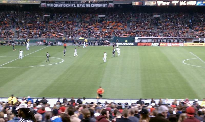 Seating view for RFK Stadium Section 331 Row 11 Seat 10
