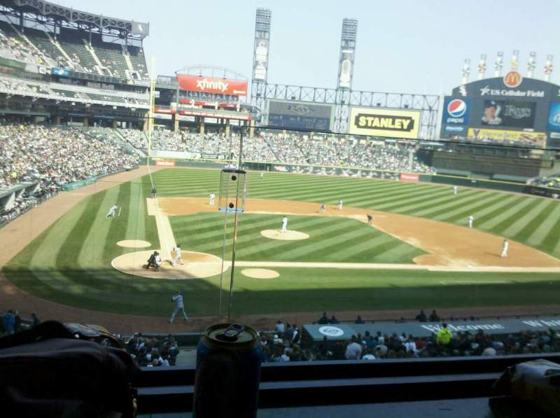 Guaranteed Rate Field, section: 227, row: 1, seat: 1
