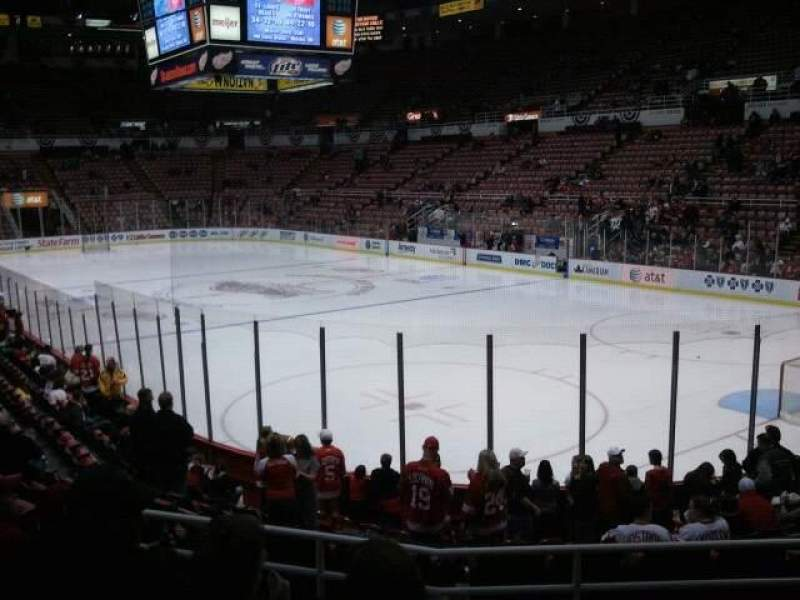 Seating view for Joe Louis Arena Section 103 Row 13 Seat 7