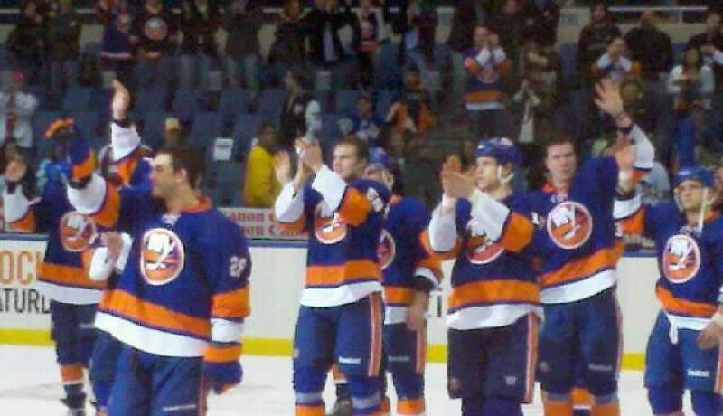Seating view for Nassau Veterans Memorial Coliseum Section 102 Row g Seat 12