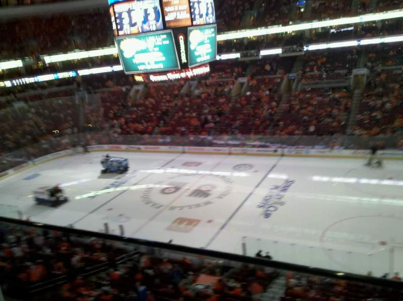 Seating view for Wells Fargo Center Section 203