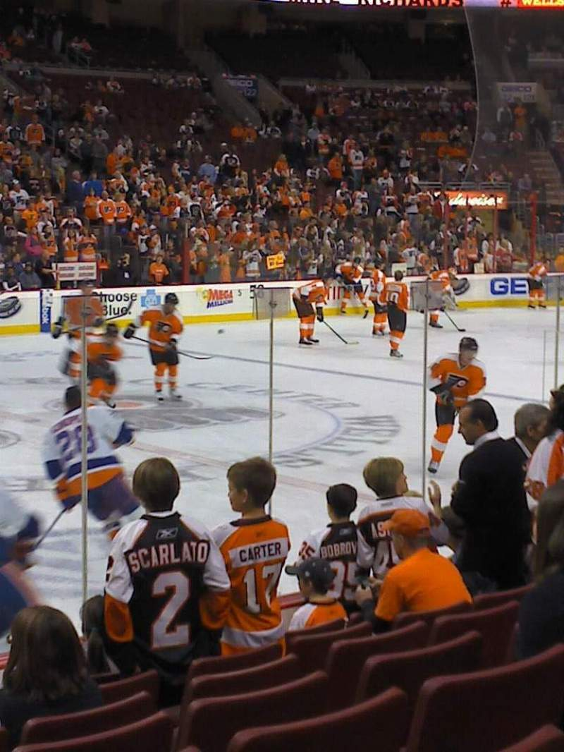 Seating view for Wells Fargo Center Section 112 Row 8 Seat 7