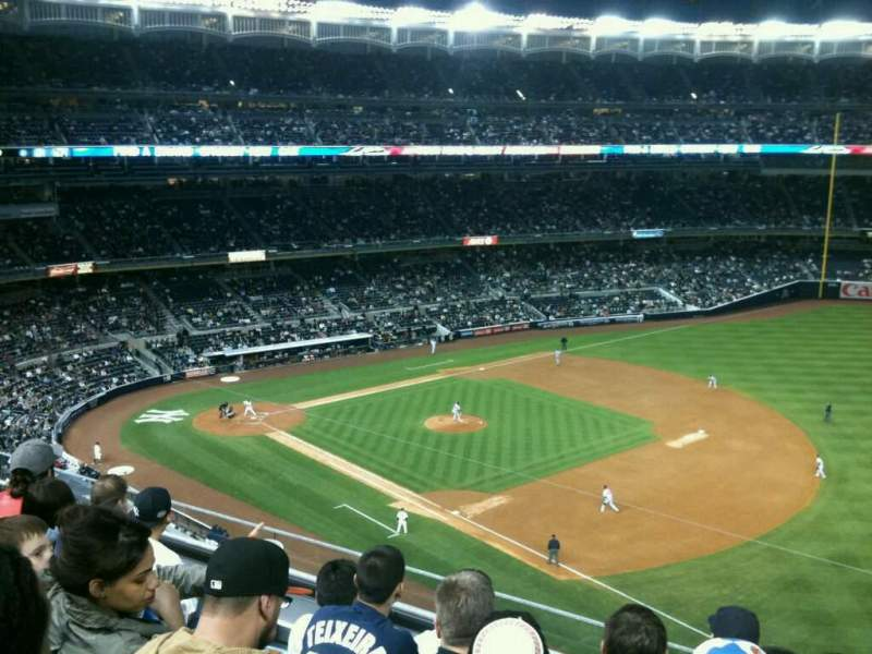 Seating view for Yankee Stadium Section 312 Row 5 Seat 1