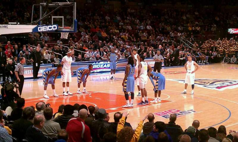 Seating view for Madison Square Garden Section 63 Row D Seat 5