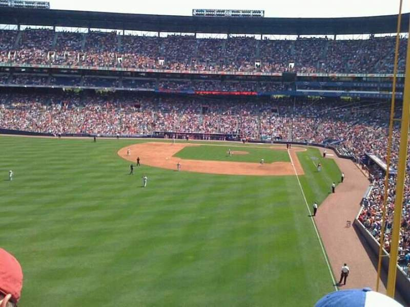 Seating view for Turner Field Section 755 club