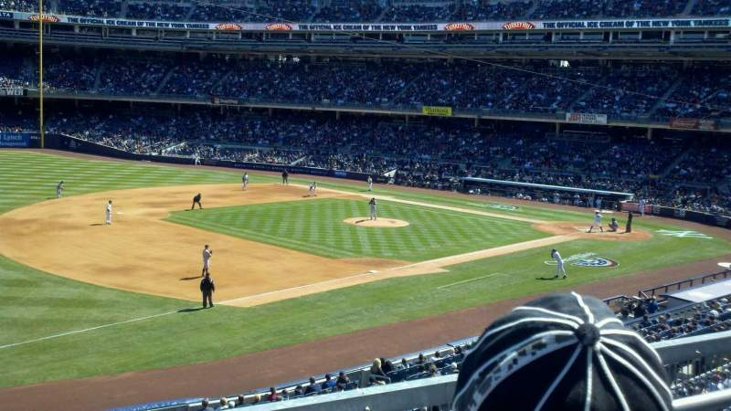 Seating view for Yankee Stadium Section 227B Row 2 Seat 24