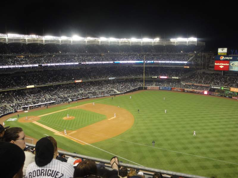 Seating view for Yankee Stadium Section 311 Row 10 Seat 2