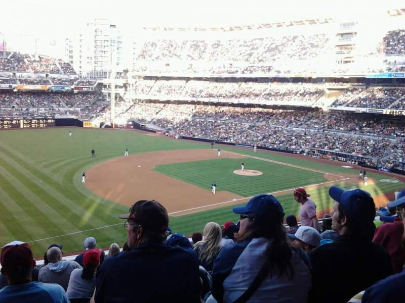 Seating view for Petco Park Section 214 Row 5 Seat 10