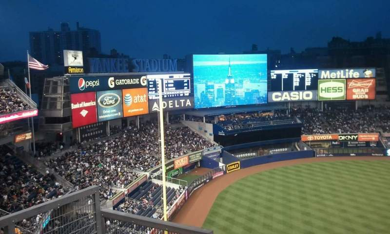 Seating view for Yankee Stadium Section 329 Row 10 Seat 15