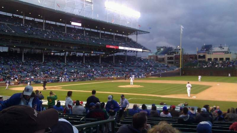 Seating view for Wrigley Field Section 130 Row 5 Seat 7