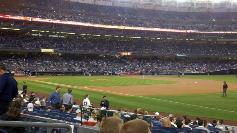 Seating view for Yankee Stadium Section 112 Row 15 Seat 13
