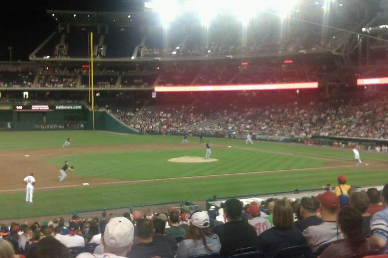 Seating view for Nationals Park Section 115
