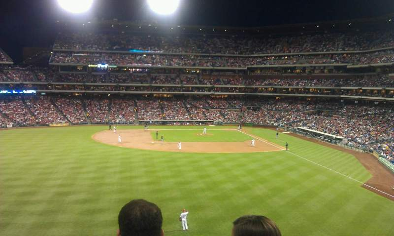 Seating view for Citizens Bank Park Section 243 Row 3 Seat 13