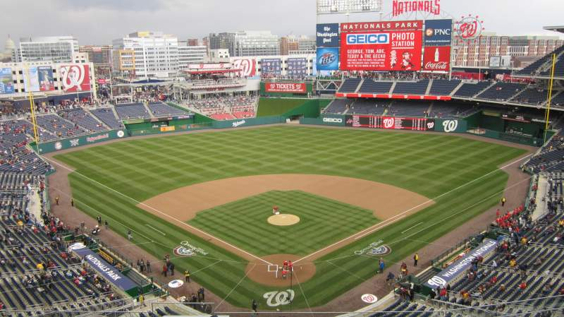 Seating view for Nationals Park Section 314 Row J Seat 18