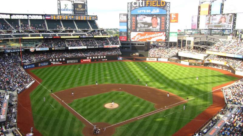 Seating view for Citi Field Section 513 Row 1 Seat 18