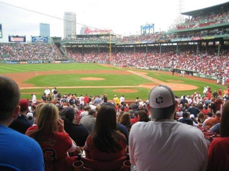 Seating view for Fenway Park Section Loge Box 144 Row NN Seat 4