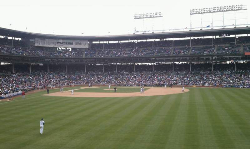 Seating view for Wrigley Field Section 313 Row 11 Seat 5