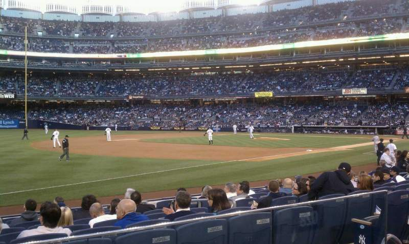 Seating view for Yankee Stadium Section 128 Row 12 Seat 8