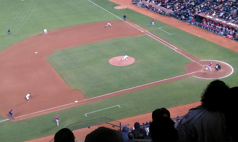 Seating view for AT&T Park Section 325 Row 14